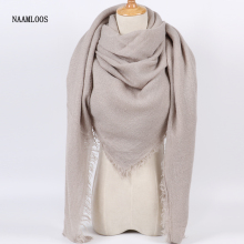 Fashion Oversize Cashmere Scarves And Wraps
