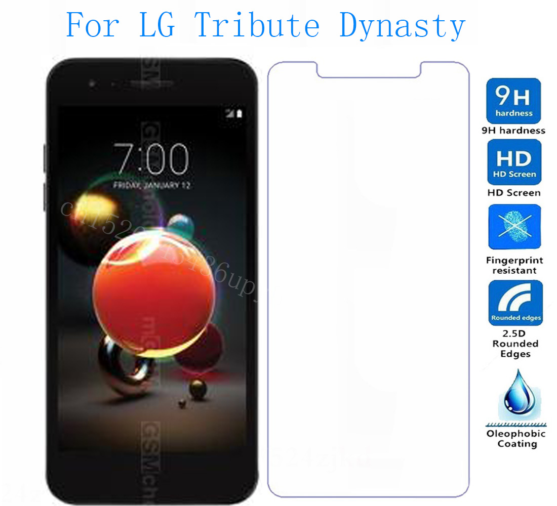 Закаленное стекло для LG Tribute Dynasty/Aristo 2/Rebel 3/ZONE 4/Fortune 2 Защитная пленка для экрана <