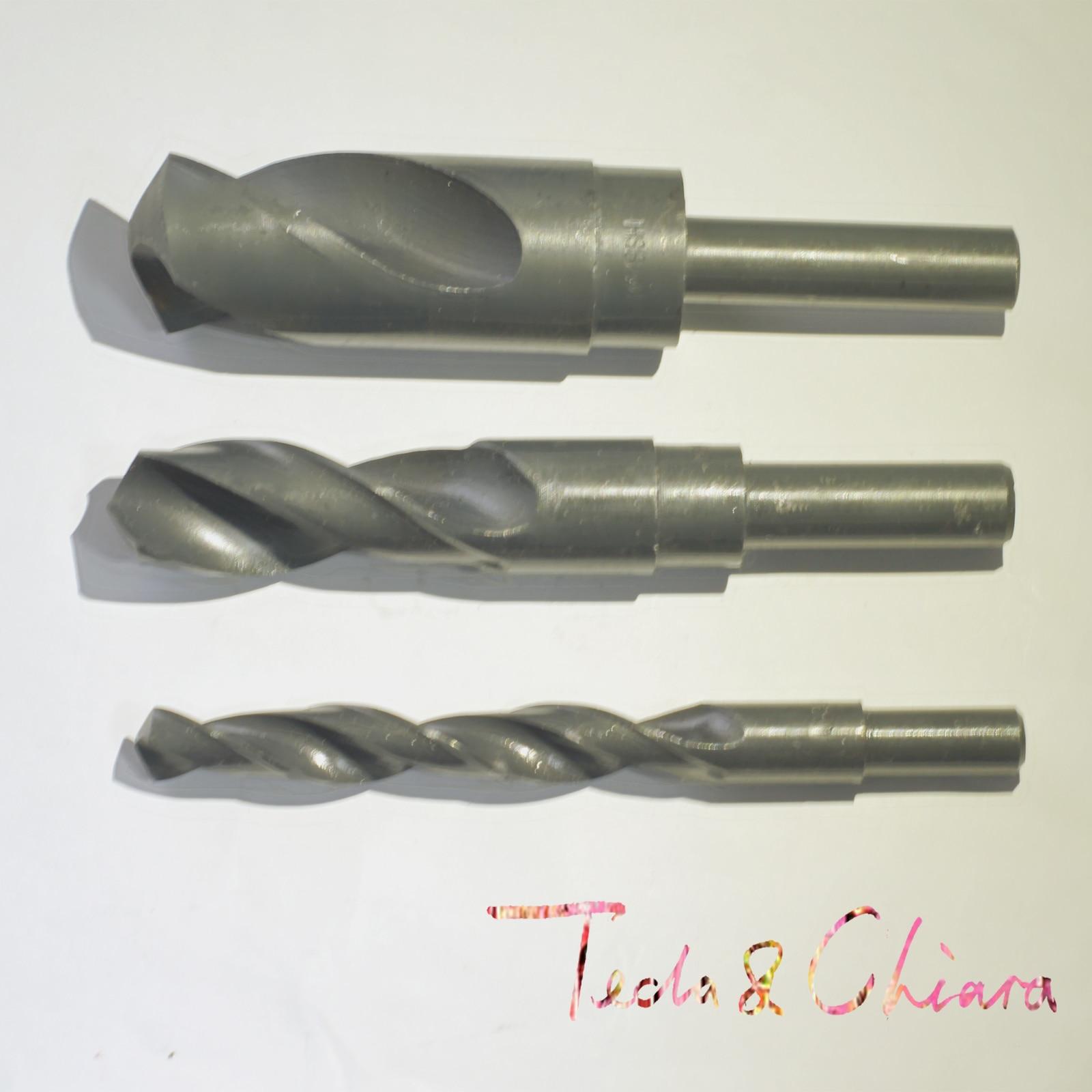 23.5mm 24mm 24.5mm 25mm HSS Reduced Straight Crank Twist Drill Bit Shank Dia 12.7mm 1/2 inch 23.5 24 24.5 25 2pcs 1 16 6 16 6mm 16 6 hss reduced shank twist drill bit shank diameter 1 2 inch