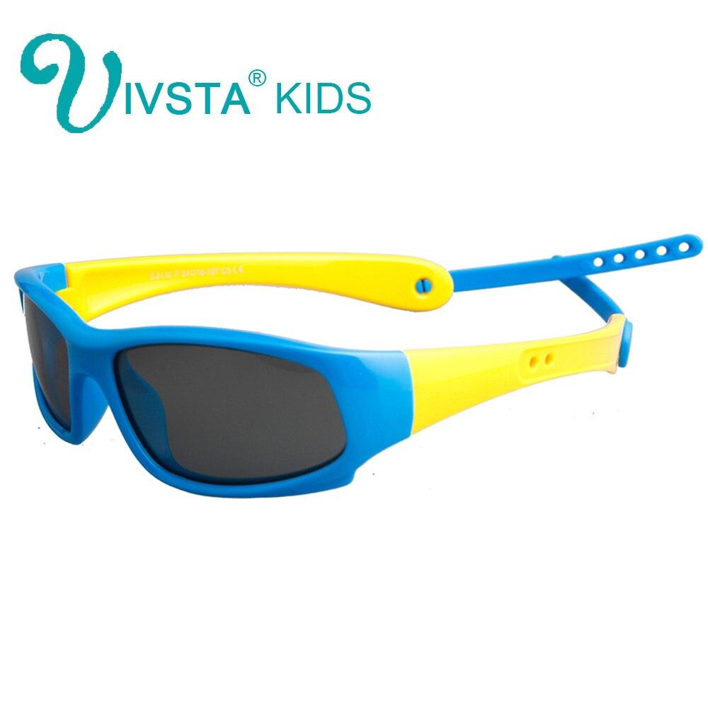 IVSTA Kinder Sonnenbrille Jungen Silikonband Polarisiert Flexibel - Bekleidungszubehör - Foto 5