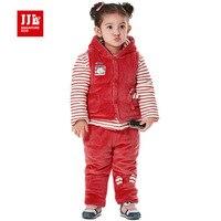 Baby Sets Boy 2015 New Winter Baby Suit Jacket Vestcoat Long Pants Kids Brand Sport Suit