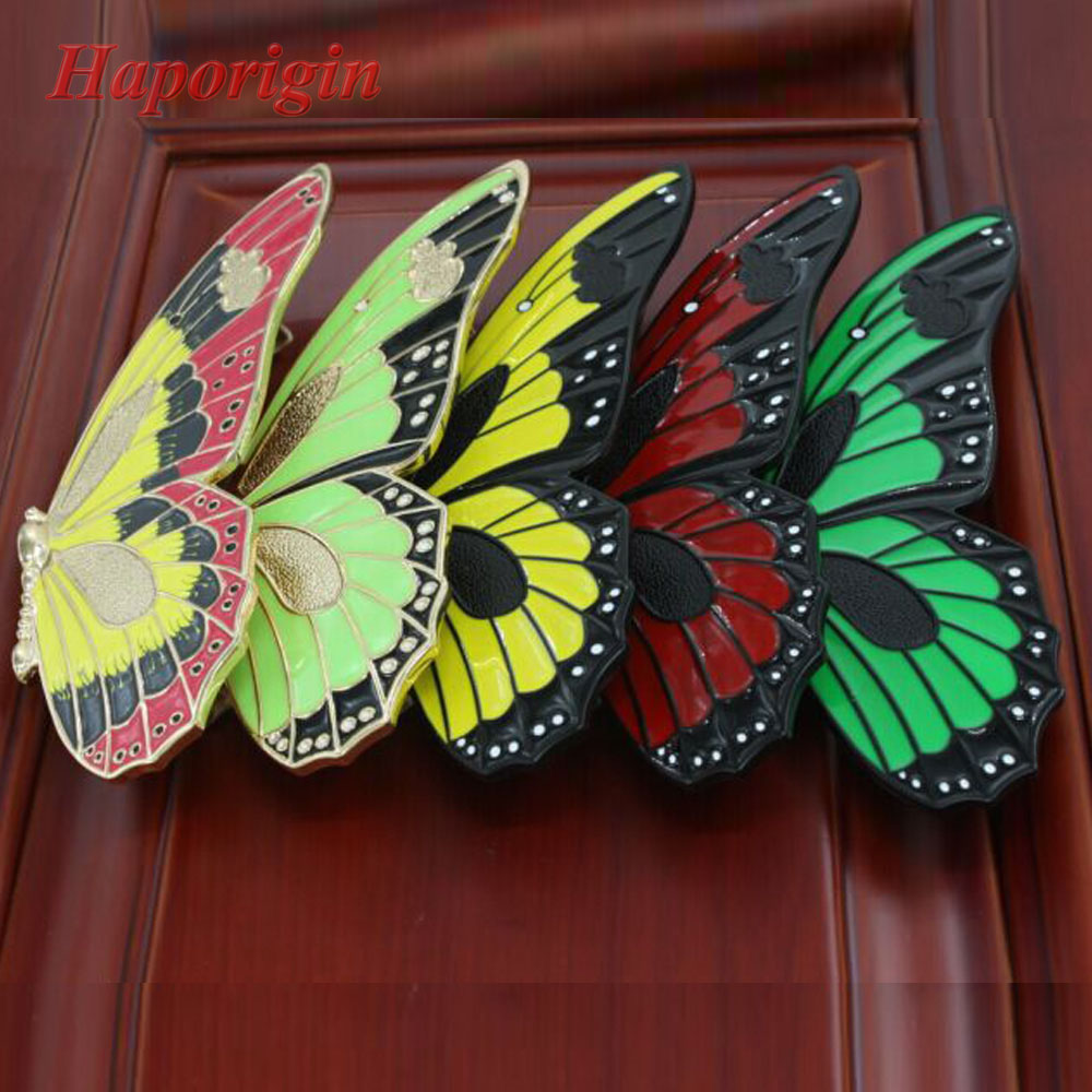 All Kinds of Butterfly Furniture Handles Kitchen Cabinet Drawer Knobs Cupboard Drawers Pulls Wardrobe Dresser Handle furniture handles wardrobe door pulls dresser drawer handles kitchen cupboard handle cabinet knobs and handles 64mm 96mm 128mm