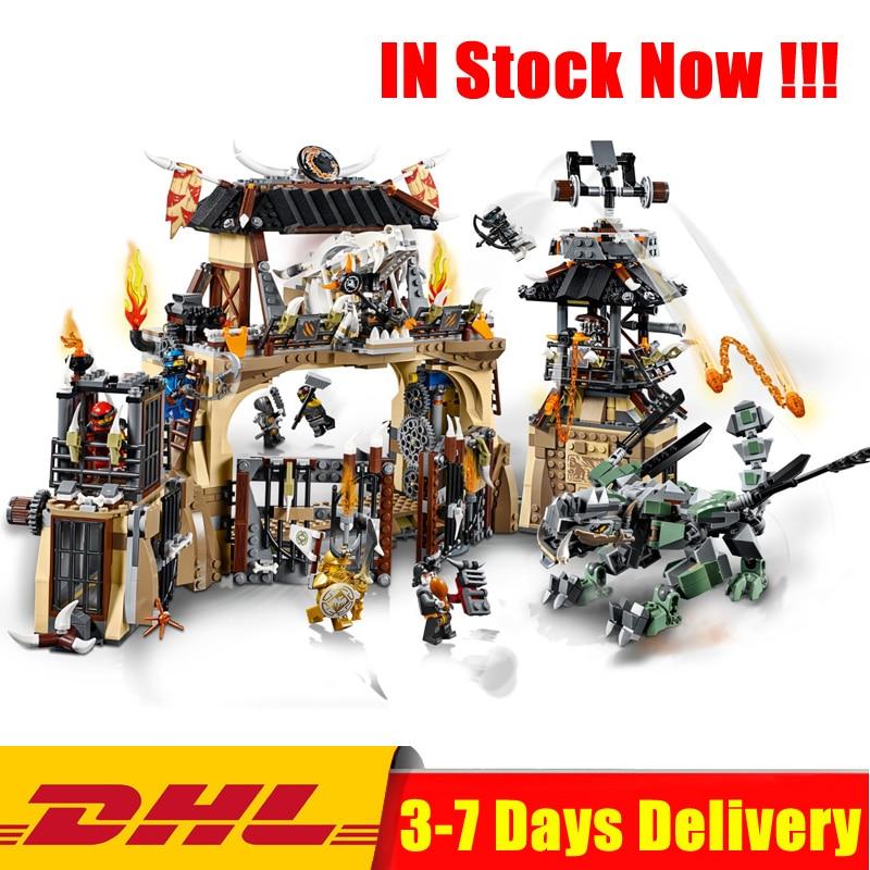 Compatible Legoings 70655 Ninja The Dragon Pit Series Set Building Blocks Bricks Educational Toys for Children Christmas Gifts