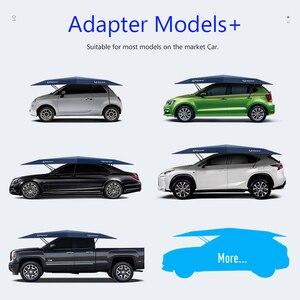 Image 4 - Автоматический автомобильный Зонт 450x230 см с дистанционным управлением, автоматический круглый автомобильный тент, солнцезащитный тент для автомобиля, уличная палатка