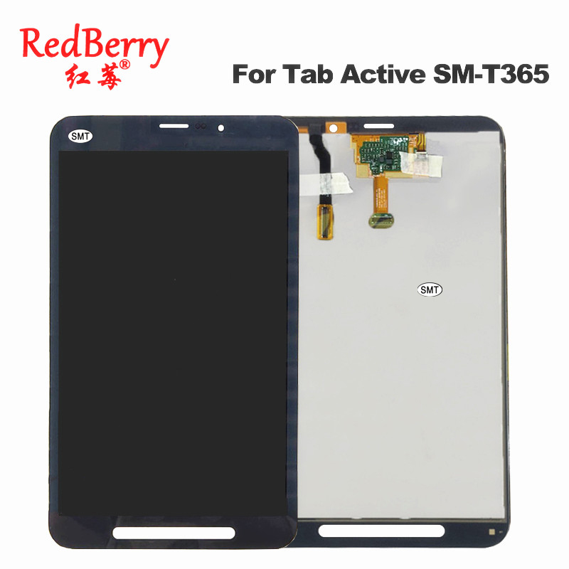 New For Samsung Galaxy Tab Active SM-T365 T365 LCD Display Panel With Tablet Touch Screen Digitizer Assembly Replacement Parts for samsung galaxy p355 lcd display with touch screen digitizer assembly panel lcd combo replacement 100% new