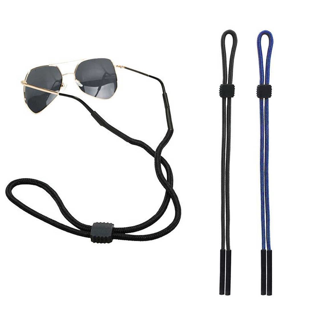 Elastic Eyeglasses Cord Adjustable Glasses Lanyards Neck String Cord Retainer Strap Head Band Glasses Rope sunglasses cord