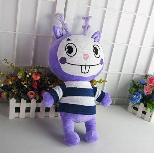 Счастливые Лесные Друзья плюшевые куклы Аниме HTF Lammy Mime плюшевые игрушки 39 см мягкая подушка высокое качество подарок бесплатно доставка