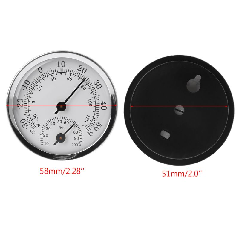 HTB1At7gbcfrK1Rjy1Xdq6yemFXac Wall Mounted Temperature Humidity Meter Thermometer & Hygrometer For Sauna Room Household