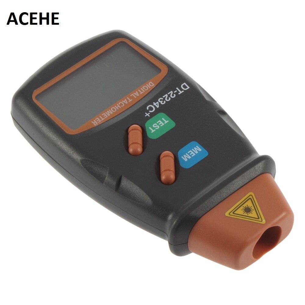ACEHE Digitale Laser Drehzahlmesser RPM Meter Berührungslose Motor Speed Gauge Revolution Spin Drop Shipping