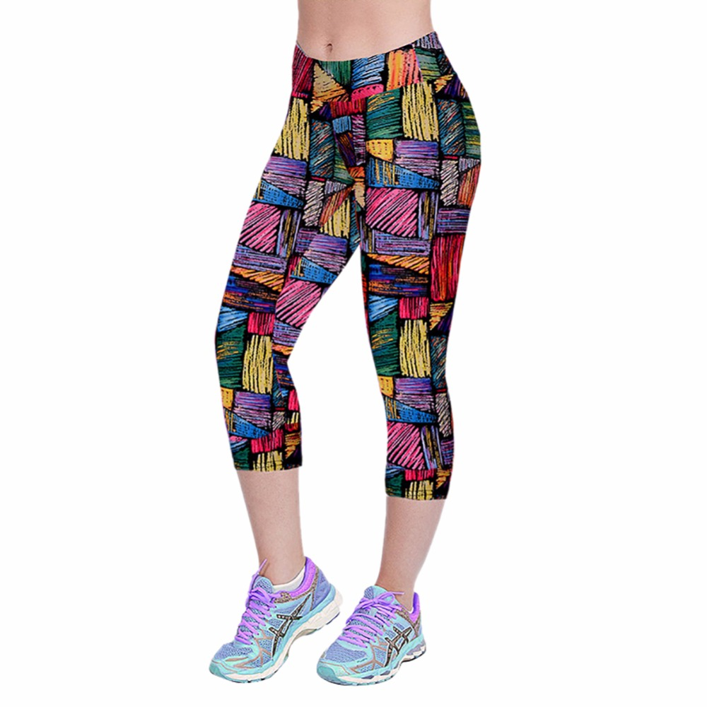 Women Yoga Fitness Workout Jogging Pant-4875