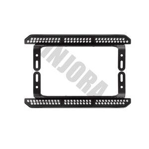 Image 4 - INJORA 2PCS TRX4 Metal Rock Sliders Pedal for 1/10 RC Crawler Traxxas TRX 4 Upgrade Parts