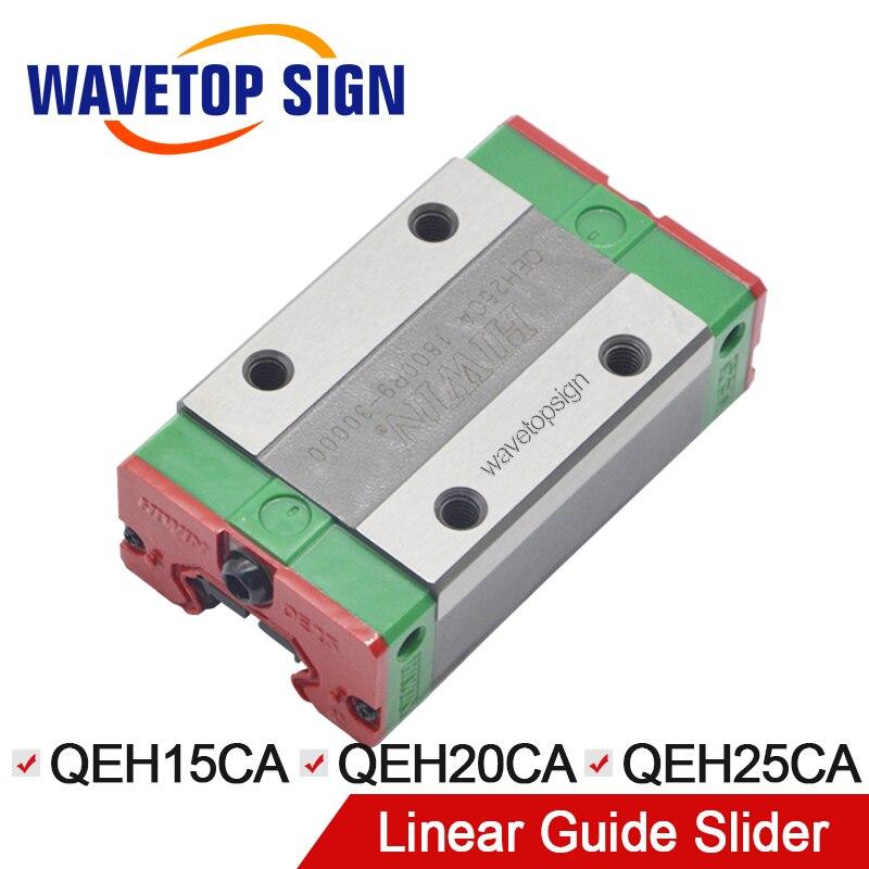 HIWIN Silent слайдер линейная направляющая QEH15CA/QEH20CA/QEH25CA линейная направляющая применение для линейных рельсов ЧПУ Diy части