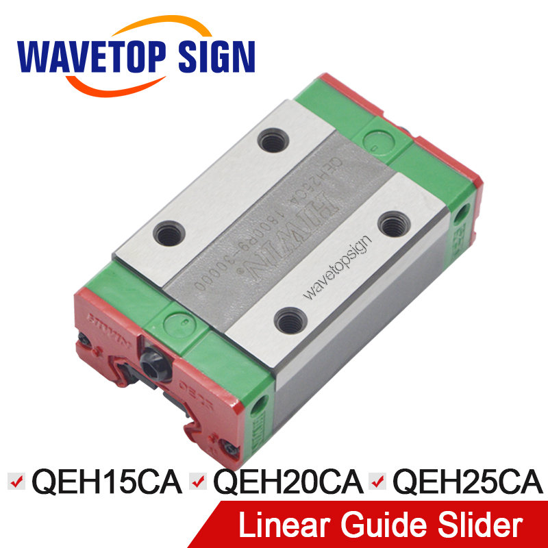 HIWIN Silent Slider Linear Guide Slider QEH15CA / QEH20CA / QEH25CA Linear Guide use for Linear Rail CNC Diy Parts 10pcs mayitr diamond holesaw 6mm drill bits drilling tool hole saw ceramic tile glass slate porcelain marble for power drills