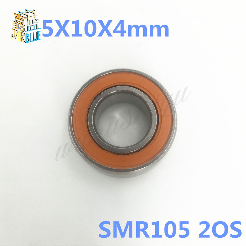 Free shipping 5X10X4mm SMR105 2OS CB SMR105C 2OS ABEC7 Stainless Steel Hybrid Ceramic Bearings/Fishing Reel Bearings SMR105-2RS