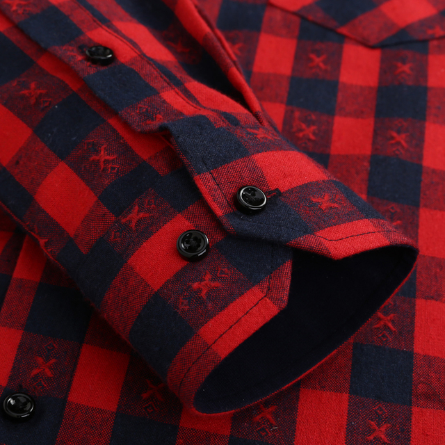 Long Sleeve Plaid Shirts – Different colors