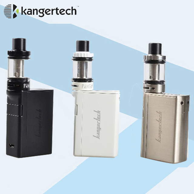 Оригинал Kangertech Starter Kit с 3.5 мл PanguTank Kone встроенный 3000 мАч Smart жидкостью vape Mod Kanger Kone Комплект e электронная сигарета