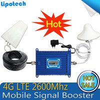 4G LTE Cell Phone Signal Repeater 2600MHz Signal Booster 70dBi Gain 2600 4G Lit Mobile Phone