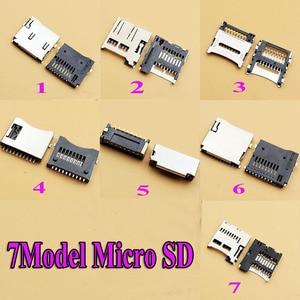Разъем для карты Micro SD, 7 моделей, 70 шт./лот, Разъем для карты TF, разъем для цифровой продукции и т. Д.