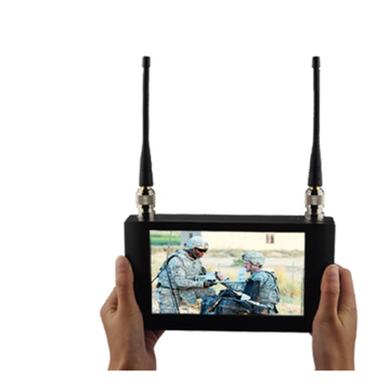 Handheld Wireless Receiver 7'' Touch Screen COFDM Receiver Digital Video Receiver with 7 inch Monitor