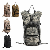 Camouflage Hydration Pack Multifunction Package Mountaineering Bags Military Tacticas Backpack Travel Rucksack Y46