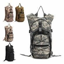 Mujeres hombres s ejército de los aficionados militares Tácticos bolsas mochila impermeable bolso de la cintura de doble hombro senderismo viajes deportes mochila colgando