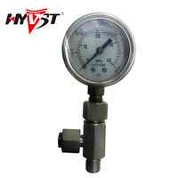 Pressure gauge and tee pipe coupling for T 440 Airless sprayer paint Spare parts