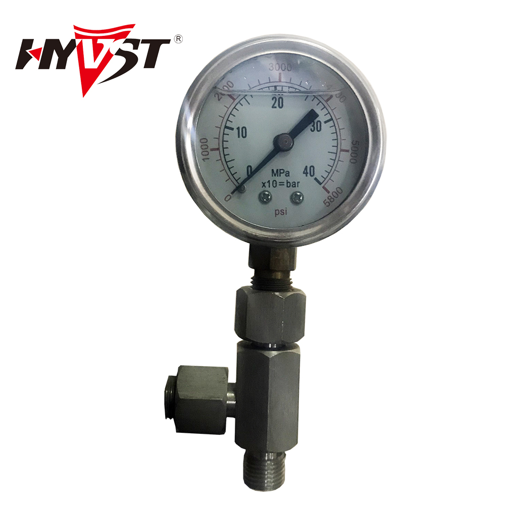 Pressure gauge and tee pipe coupling for T 440 Airless sprayer paint Spare parts цены