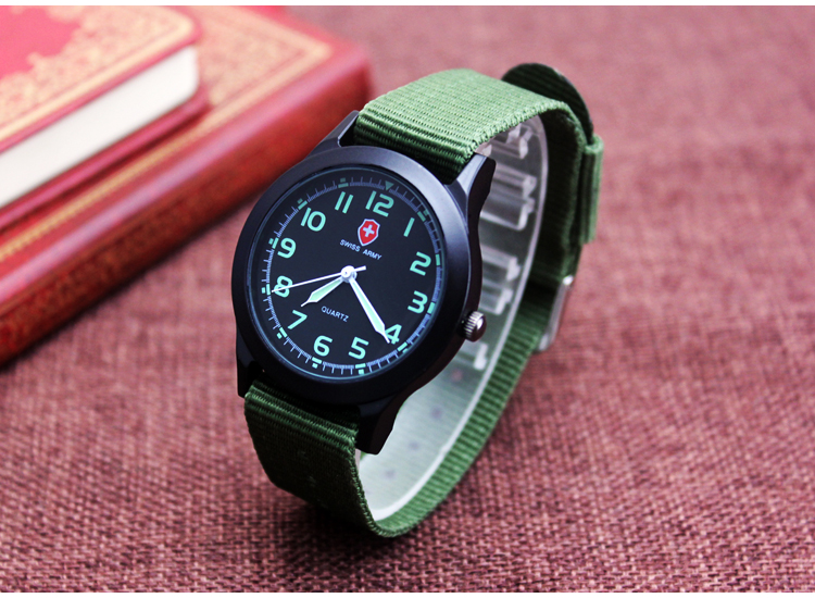 2016 Military Watch swiss brand Fashion Casual Watches Men Wristwatch Nato Strap Quartz Sport Wrist Watch