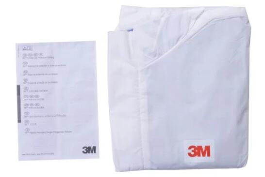 B1N56-B1N72  3M protective clothing conjoined protective clothing dust suit breathable and comfortable anti-particulate matter gf go7300 b n a3 gf go7400 b n a3