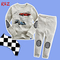 Boy suit cotton t-shirt + pants new children's cartoon children's long-sleeved tracksuit suit pajamas at home