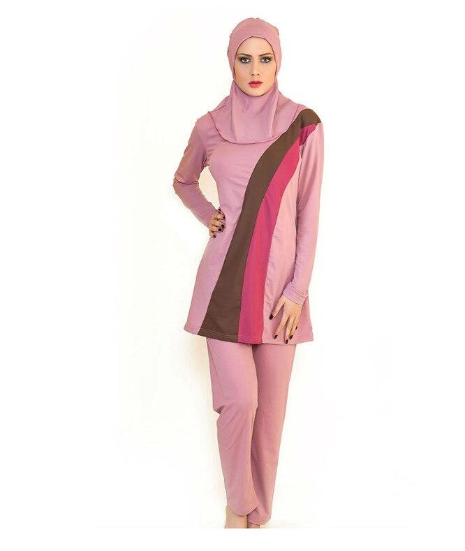 2015Top Quality Muslim Swimwear Islamic Clothing Swimsuit For Muslim Women Malaysia Turkish Islamic Swimsuit Arab Garment swimsuit muslim swimwear for women 2017 new swimsuit swimwear islamic arab muslim woman beach swimsuit size l 5xl