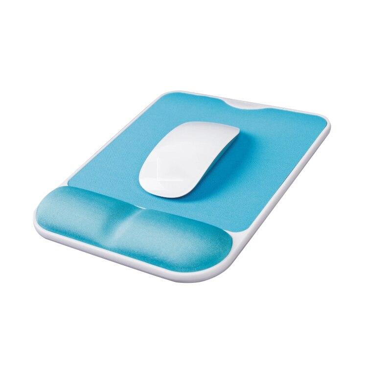 인체 공학적 마우스 패드 손목 나머지 마우스 패드 손 보호 느린 리바운드 마우스 패드 게임 마우스 패드