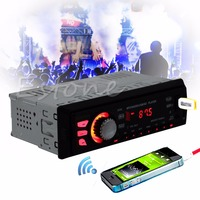 Bluetooth Car Stereo Audio Player In Dash 12V Aux Receiver SD USB MP3 FM Radio
