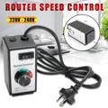 220В-240В 8А маршрутизатор регулятор скорости переменного тока реstat инструмент для освещения вентиляторов электроинструменты