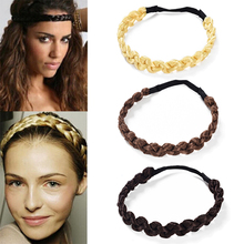 MISM 2CM Wig Headband Braids Hair Accessories Women Hairstyl