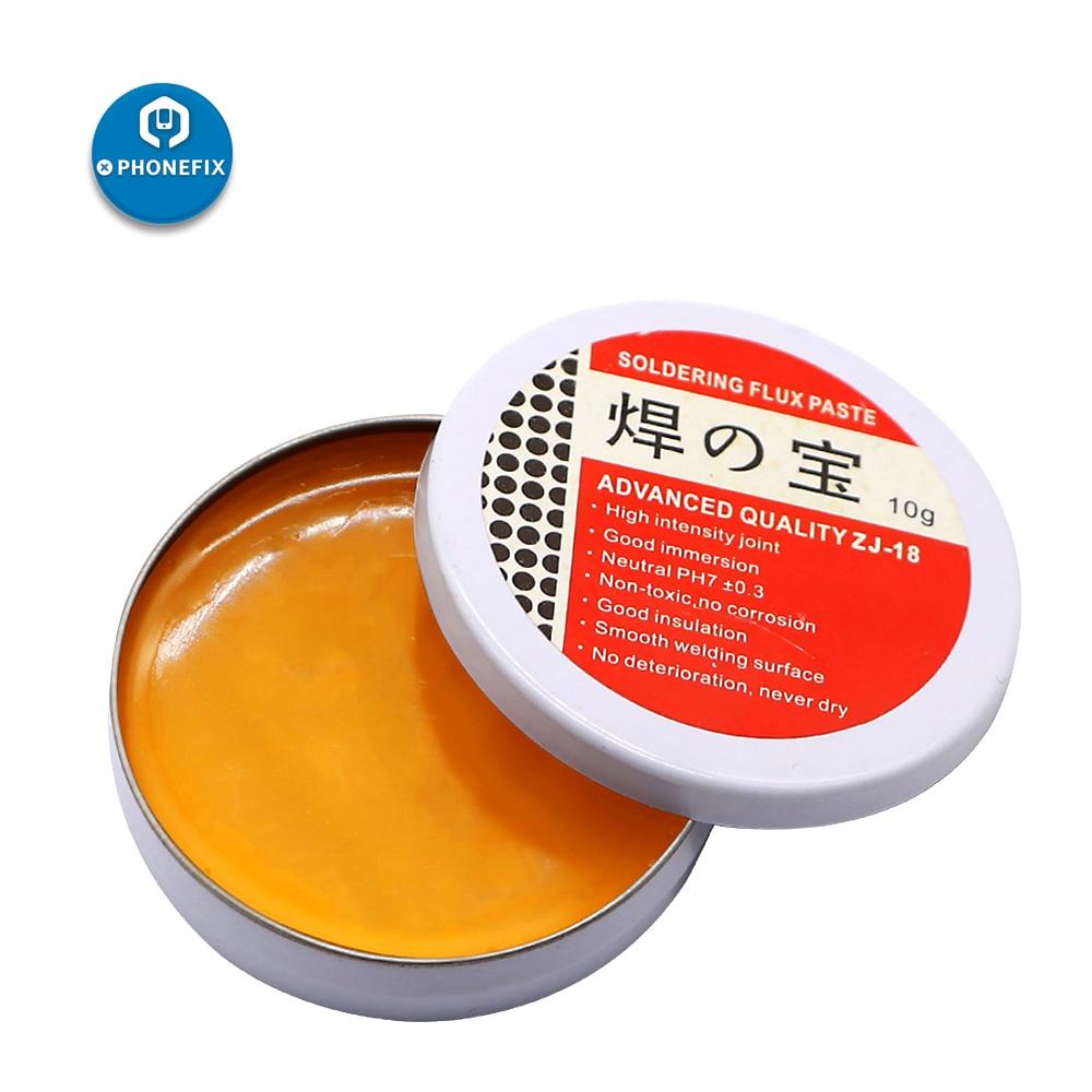 PHONEFIX Soldering Paste Mild Rosin Environmental Soldering Paste Flux PCB IC Parts Welding Soldering Gel Tool For Metalworking