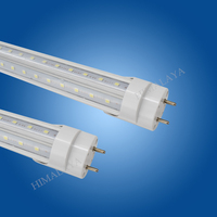 Toika 10pcs/lot 5ft 1.5m 50w led T8 led tube light v shaped led T8 tube lamp red/green/blue 5ft 1500mm SMD2835 AC85 265v CE&ROHS