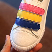 Girls colored casual shoes Brand running shoes boys and girls Super cute shoes series kid shoes