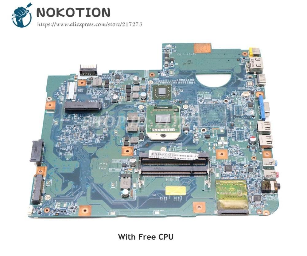 NOKOTION For Acer aspire 5536 5536G Laptop Motherboard MBP4201003 48.4CH01.021 Socket S1 DDR2 Free CPUNOKOTION For Acer aspire 5536 5536G Laptop Motherboard MBP4201003 48.4CH01.021 Socket S1 DDR2 Free CPU