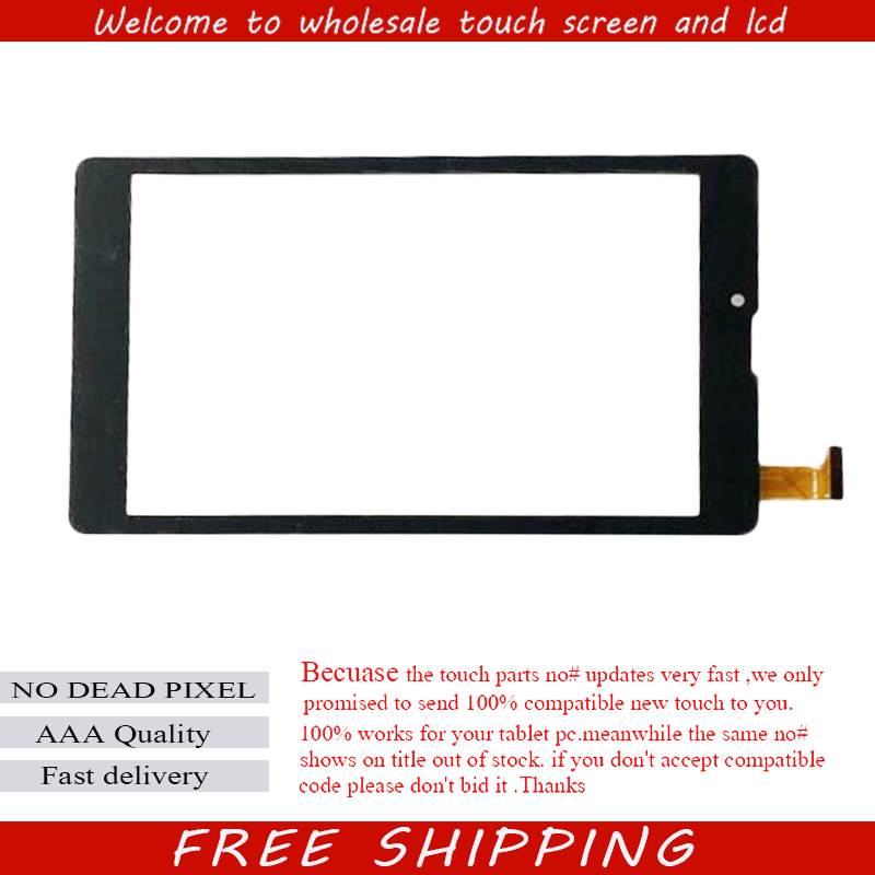 New For 7 Digma Optima Prime 2 3G TS7067PG Tablet capacitive touch screen panel Digitizer Glass Sensor Touchpad Free Shipping new for 9 7 inch digma idsd 10 idsd10 3g tablet capacitive touch screen digitizer glass touch panel sensor free shipping