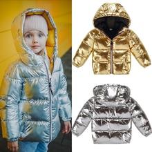 Children Boys girls jackets Outwear Coats New Spring autumn Fashion Waterproof Hooded warm parkas 3 8y kids jacket windbreaker