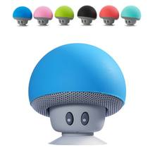 Portable Stereo Blutooth Fashion MP3 Player Mini Mushroom Speaker Wireless Bluetooth 4.1 Speakers For Mobile Phone Handsfree