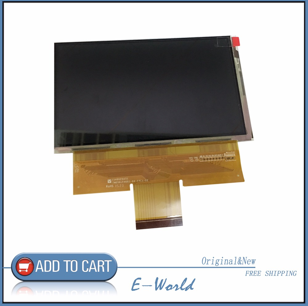 Original 5.8inch TM058JFHG01-00-FPC1-02 TM058JFHG01-00-FPC1 TM058JFHG01-00 TM058JFHG01 LCD screen free shipping led-backlit lcd display