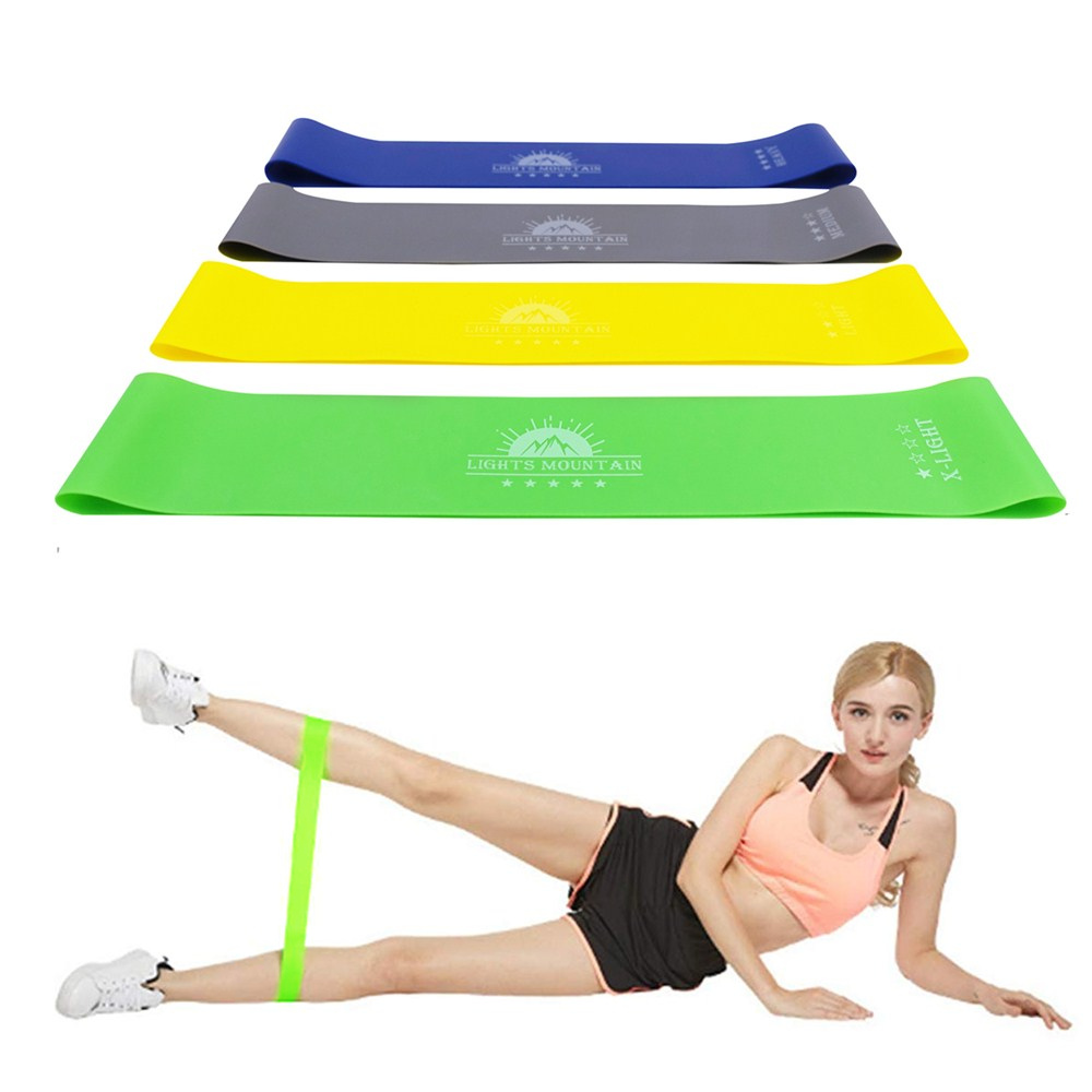 Elastic Resistance Bands Workout Rubber Loops Latex Booty Mini Workout Band Fitness Gym Strength Training Crossfit Equipment