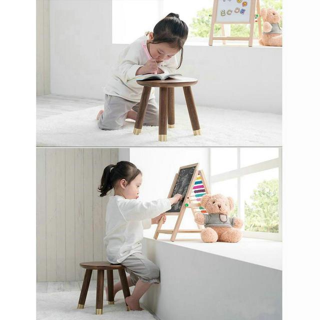 HQ ST02 lujo niños taburete niño pequeño asiento escabel Estudio de ...