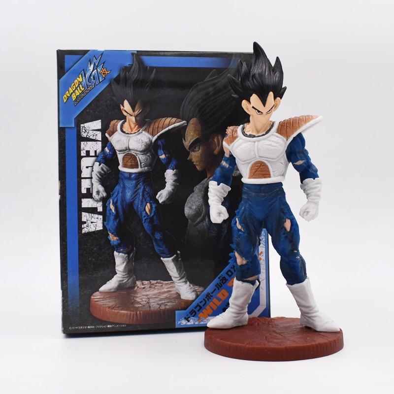 20cm Dragon Ball Z Budokai Vegeta Action Figures Toy Cartoon Anime PVC Movie&TV Dolls Gift For Kids Free Shipping