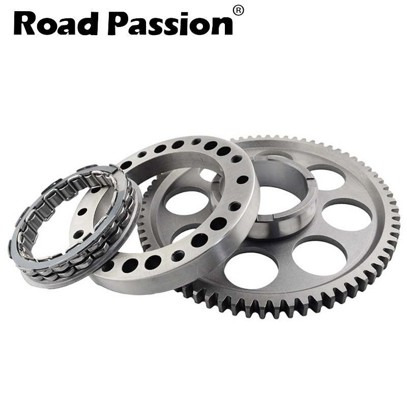 Road Passion Motorcycle One way Starter Clutch Gear Assy Kit For <font><b>Ducati</b></font> StreetFighter S <font><b>1098</b></font> / 1198 / 749 R S 848 EVO image