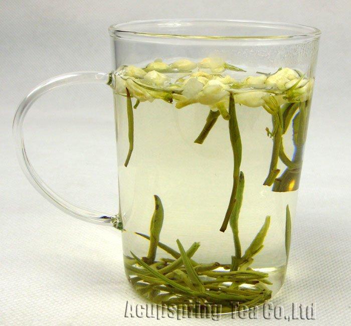 4oz/100g Fragrant Jasmine Huangshan MaoFeng,Good Quality Green Tea,A3CLH03M,Free Shipping 4oz 110g jasmine pearl tea fragrance green tea a2clz01 free shipping