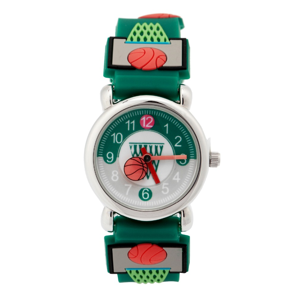 Waterproof Kid Watches Children Silicone Wristwatches basketball Brand Quartz Wrist Watch Fashion Casual Relogio watch children watch basketball brand quartz wrist watch 4color for girls boys waterproof kid watches children fashion gift
