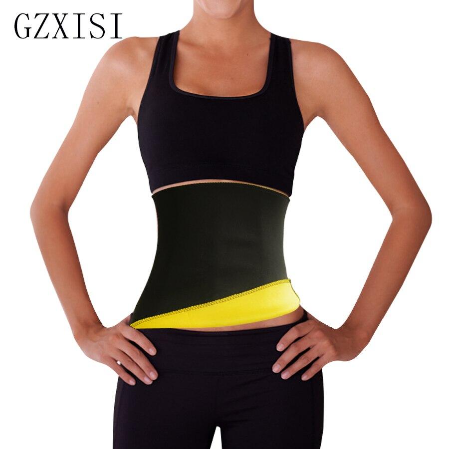 Hot Shapers Neoprene Black Waist Cincher Fit Sweat Body Shaper Belts Slimming Weight Loss Waist Trainer Belt for Women Plus Size